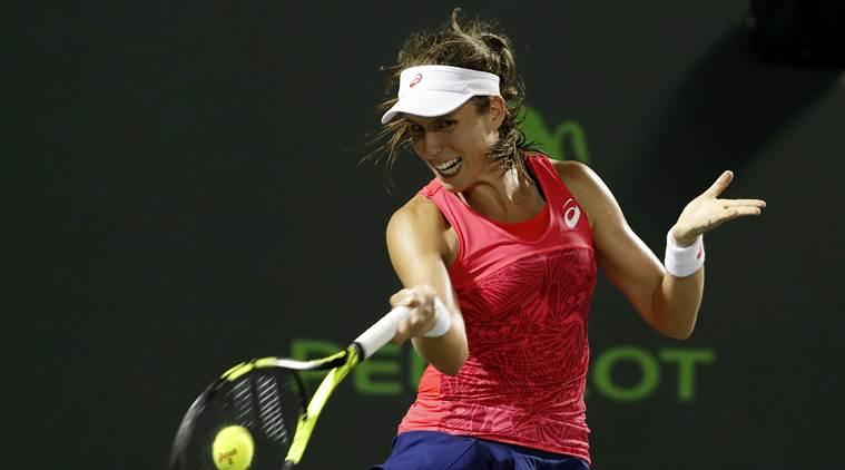 Jo Konta, Johanna Konta, Caroline Wozniacki, Konta vs Wozniacki, Miami Open, Miami Open WTA, tennis news, sports news, indian express