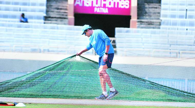 ranchi test, ranchi cricket ground, ranchi pitch, pitch curator ranchi, india australia test series, ranchi test schedule, anil kumble, indian team test match, cricket news, indian express