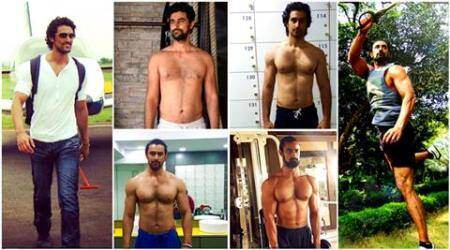 kunal kapoor, kunal kapoor fitness, kunal kapoor body transformation, kunal kapoor fitness goals, kunal kapoor transformation, kunal kapoor khal drogo, kunal kapoor veeram look, kunal kapoor veeram transformation, fitness, health, body, workout, indian express, indian express news