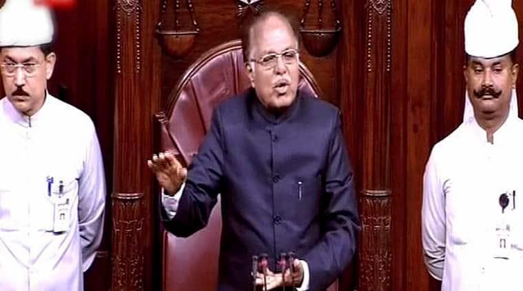 Deputy Chairman P J Kurien, Rajya Sabha, Rajya Sabha Select Committee, Lok Sabha, India News, Indian Express, Indian Express News