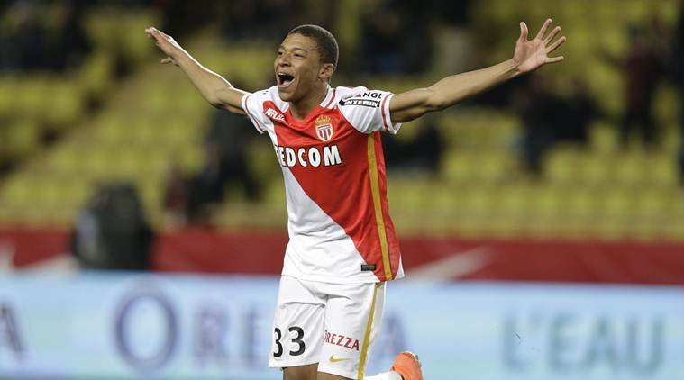 kylian mbappe, kylian mbappe france, kylian mbappe monaco, france foootball, football news, sports news