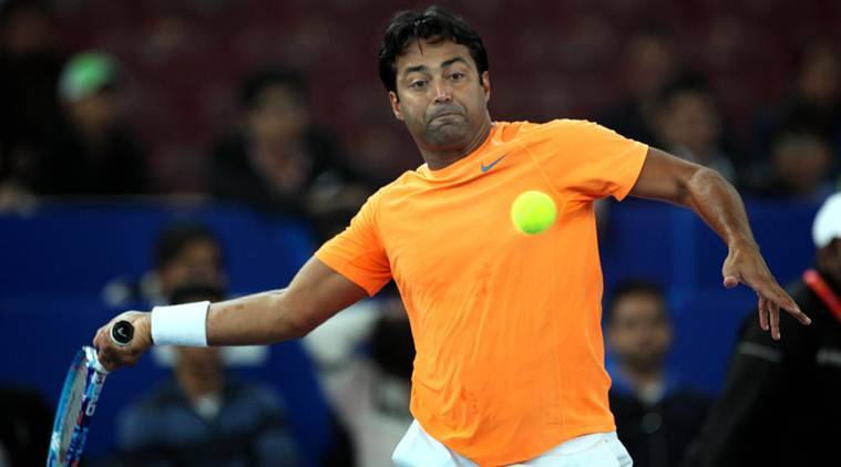 leander paes, paes, leander paes grand slam, french open, french open 2017, tennis news, tennis, indian express