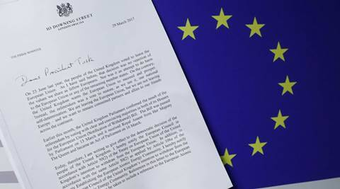 brexit, brexit eu, brexit day, Britain, Britain EU, European union, Great Repeal Bill, UK Great Repeal Bill, theresa may, hard brexit, latest news, latest world news, indian express