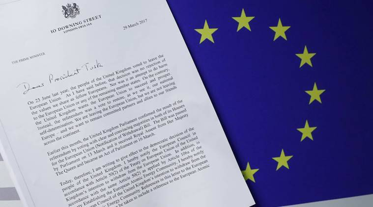 EU's Brexit negotiating stance revealed by European Council President Donald Tusk