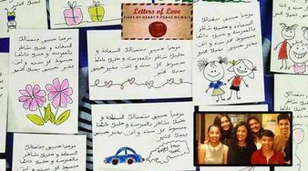 international women's day, letter of love, letters of love 2017, letters of love UN, letters of love pooja pradeep, letters of love syria, syrian refugee crisis, refugee crisis in syria, indian express, indian express news