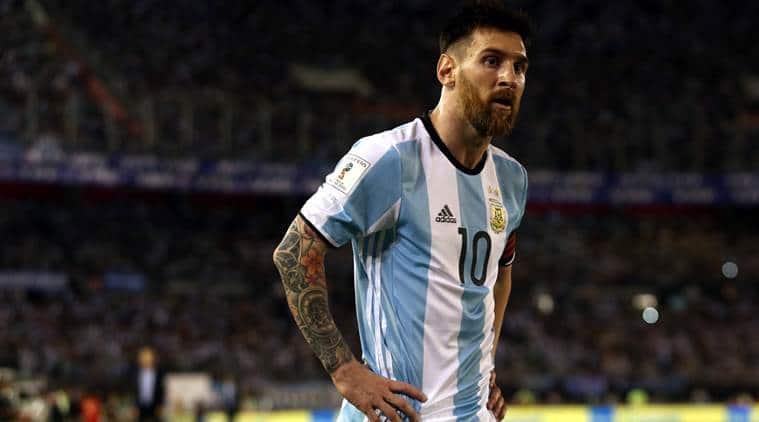 Lionel Messi, Lionel Messi, Lionel Messi Argentina, Argentina vs Chile, Argentina vs Chile World Cup qualifier, World Cup qualifier, Football news, Football, Sports news, Sports, Indian Express