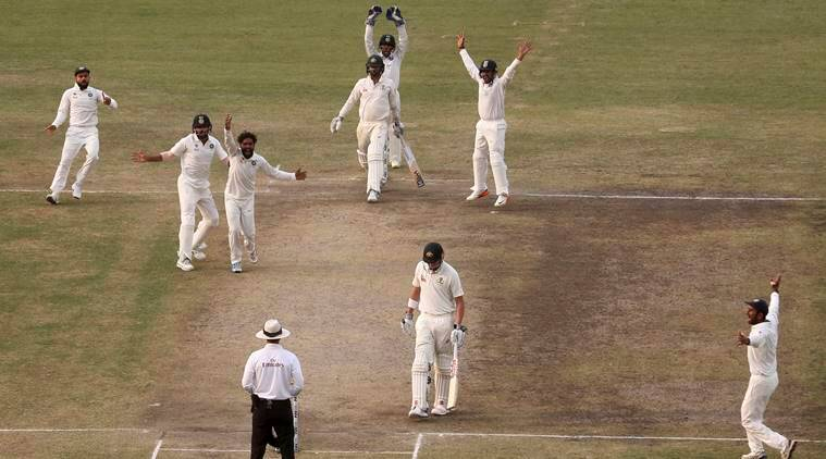 Live Cricket Score India Vs Australia 3rd Test Day 5 India In Control Against Australia In Ranchi