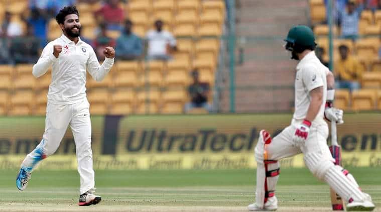 india vs australia 2nd test, ind vs aus, india vs australia, india vs australia score, ravindra jadeja, jadeja, cricket news, cricket