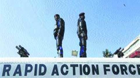 Vadodara police, Rapid Action Force hold meeting with old city area peace committee