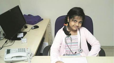 Year after heart transplant, nine-yr-old girl wants to become a cardiologist