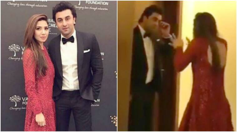 mahira khan, ranbir kapoor, Global Teacher Prize dubai, mahira khan ranbir kapoor video