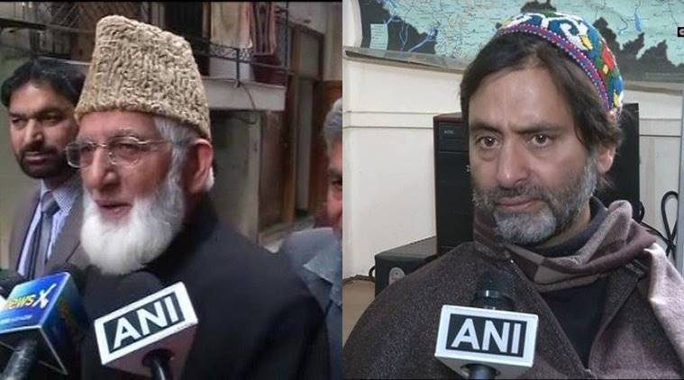 Syed Ali Geelani, MirwaizUmer Farooq, Muhammad Yasin Malik, Syed Ali Geelani, MirwaizUmer Farooq, Muhammad Yasin Malik arrested, Jammu and Kashmir news, Latest news, India news, National news