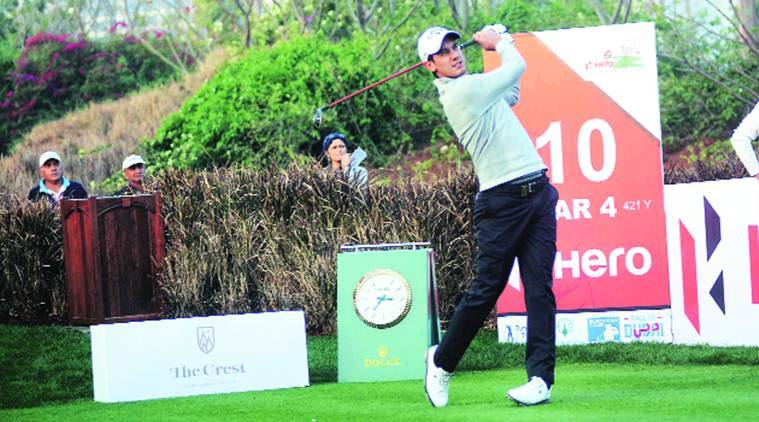 Image result for Indian Open Golf: Rule change to Matteo Manassero rescue