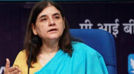 Union Minister Maneka Gandhi for appointment of women drivers in school buses