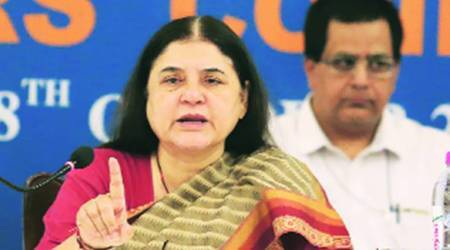 Watch: Maneka Gandhi abusing officer, accused of corruption, in Bareilly