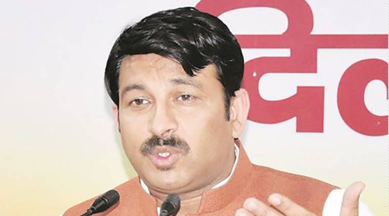 Delhi, Manoj Tiwari video, Manoj Tiwari teacher video, BJP Manoj Tiwari, AAP, AAP Delhi, AAP Manoj Tiwari, Dilip Pandey BJP, AAP BJP, Delhi news, India news