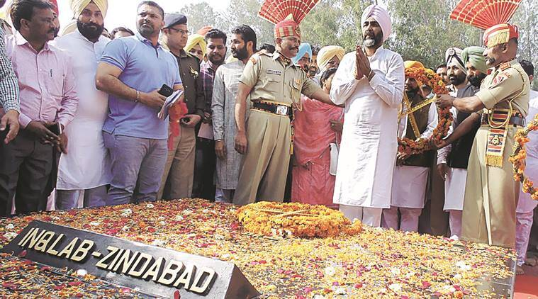 Punjab news, Manpreet Singh Badal, Hussainiwala, Bhagat Singh, Rajguru and Sukhdev, India news, National news, National news, latest news, India news, National news,