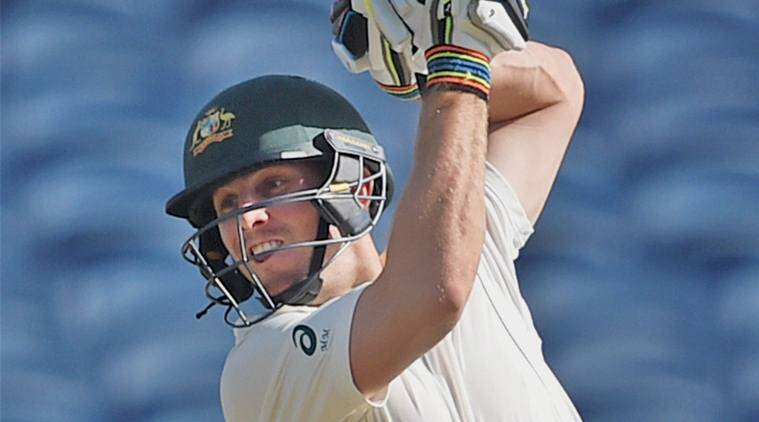 Marcus Stoinis replaces injured Mitchell Marsh for last two India Tests