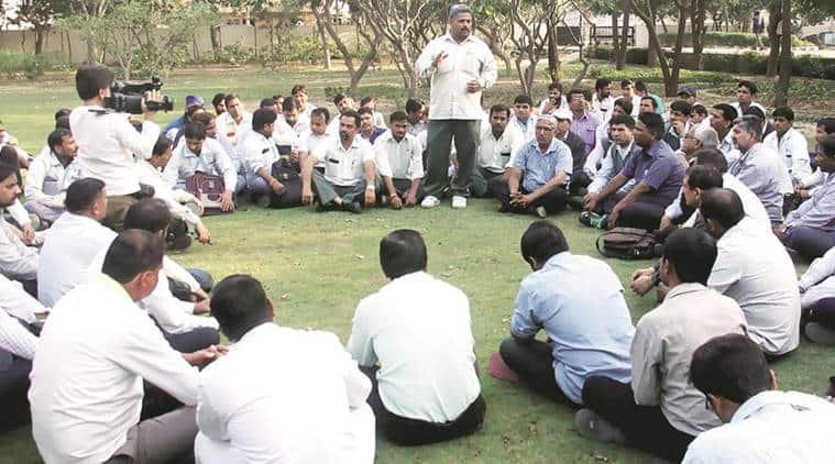 maruti, maruti workers strikes, maruti union, maruti workers case, india news, delhi news