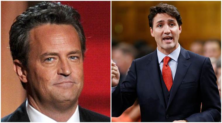 Matthew Perry, Matthew Perry actor, Matthew Perry news, Jimmy Kimmel, Jimmy Kimmel news, Jimmy Kimmel Matthew Perry, Justin Trudeau, Justin Trudeau Matthew Perry, Matthew Perry Jimmy Kimmel, Jimmy Kimmel show, entertainment news, indian express, indian express news