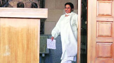 Vice-President Hamid Ansari accepts BSP chief Mayawati's resignation