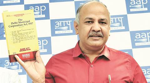 Property tax was waived for Vijay Goel last year, why not for public: Manish Sisodia