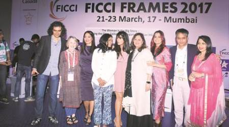Misogyny in Indian Media and Entertainment, Imtiaz Ali, Tannishtha Chatterjee, Richa Chadha, The Woman is The Big Story, FICCI Frames Convention, Vani Tripathi Tikoo, Women in Indian Media, Women in Entertainment, gender-neutral in Movie Industry, gender-neutral in Media,