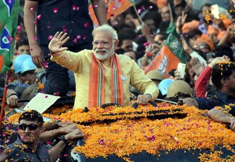 Exit polls in India hint at victory for premier's party