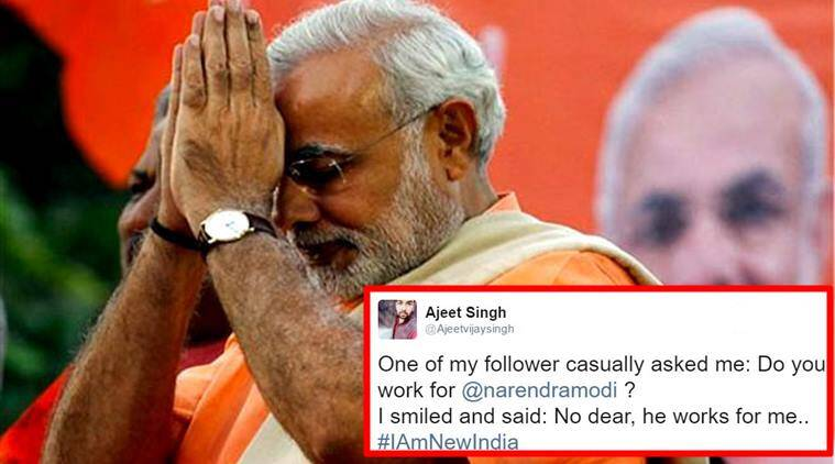 narendra modi, narendra modi replies to twitter user, narendra modi's savage reply to twiiter user, narendra modi replies to twitter user, narendra modi trolls man on twitter, pm modi trolls man on twitter, indian express, indian express news, trending
