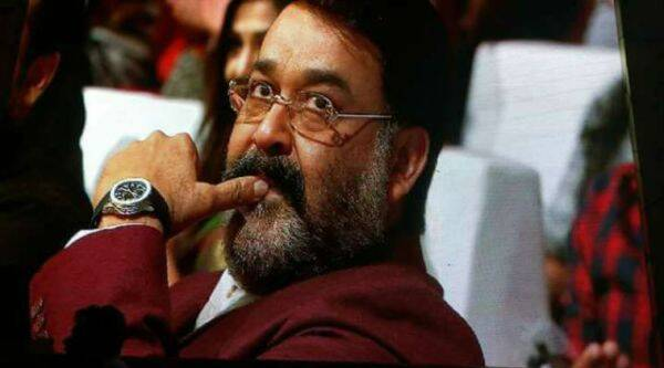 Malayalam superstar Mohanlal celebrates the success of Pulimurugan.