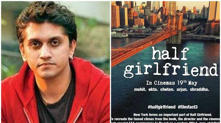 mohit suri, half girlfriend, chetan bhagat book, mohit suri film