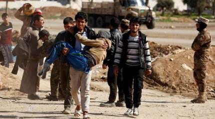 Iraqi forces pause push to recapture Mosul over concern for civilian casualties