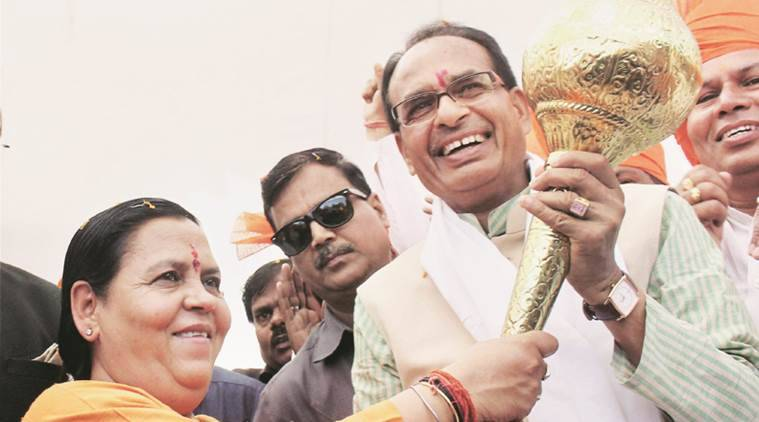 Uma Bharati, Uma Bharati MP, Uma Bharati Madhya Pradesh, Shivraj Singh Chouhan, BJP, BJP elections, latest news, latest india news