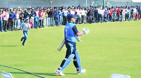 MS Dhoni brings sleepy Palam ground to life