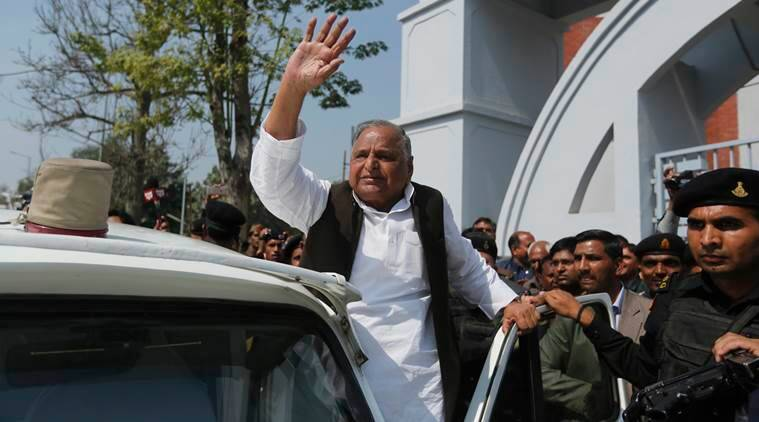 Akhilesh yadav, mulayam singh, grand alliance, 2019 general election, samajwadi party, BSP, Congress, Samajwadi party-2019 general election, bjp, modi, india news, uttar pradesh, indian express