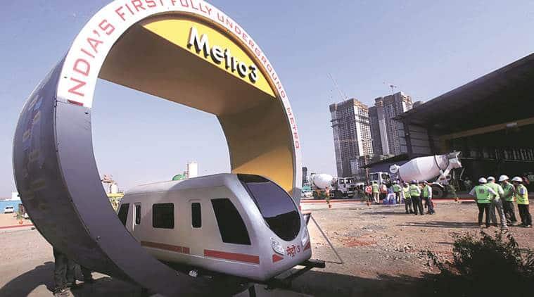 Mumbai, Mumbai news, Mumbai metro, Metro 3, Colaba-Bandra-SEEPZ corridor, Indian express news