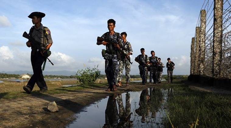 Myanmar clashes: Thousands flee as army clashes with insurgents near China  border, official says | World News,The Indian Express