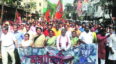 Narada sting case: BJP protests, clashes with police