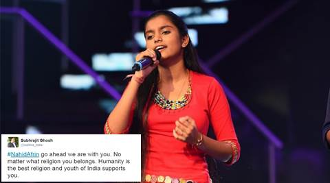 nahid afrin fatwa, nahid afrin issued fatwa, assam girl issued fatwa, clerics issue fatwas, indian idol singer issued fatwa, india express, indian express news