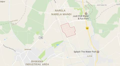 Delhi: Fire breaks out in Narela Industrial Area