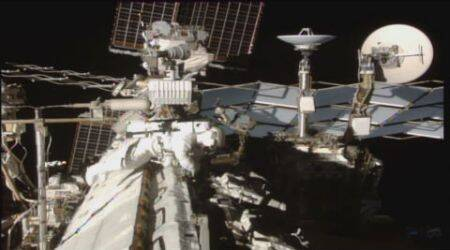 Video: Astronauts complete spacewalk to retrofit space station
