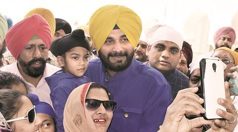Amritsar: Navjot Singh Sidhu gets a tepid response on his first visit as minister