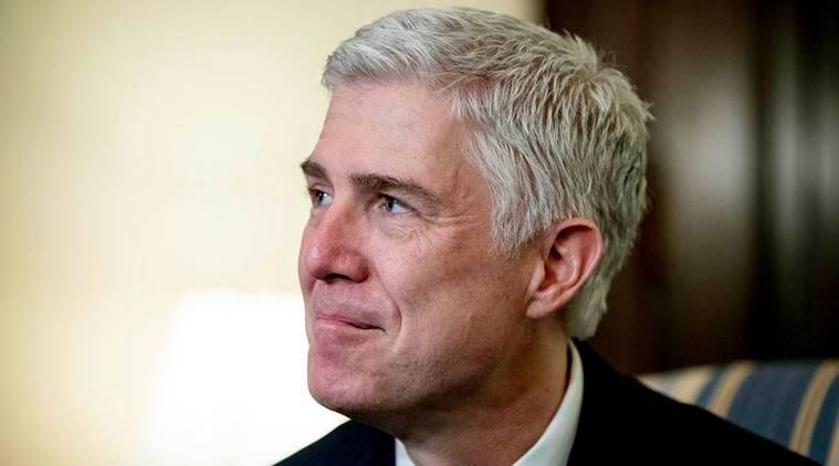 donald trump, trump supreme court nominee, us president, united states, neil gorsuch, democrats, republicans, us justice department