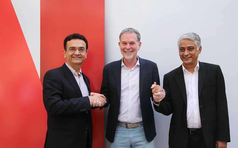 Netflix extends its reach in India