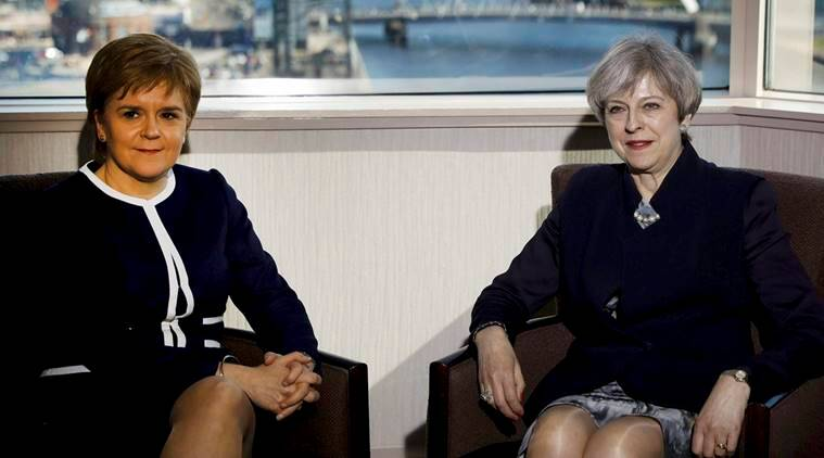 scottish lawmakers, independence vote, nicola sturgeon, scotland independence vote, independence referendum, scotland independence referendum, brexit eve, world news, latest news, indian express news