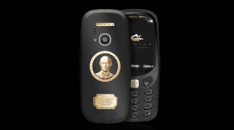 Nokia 3310, Nokia 3310 Supremo Putin, Supremo Putin Nokia 3310, Supremo Putin Nokia 3310 Caviar, Caviar Nokia 3310, Nokia 3310 price in India, Nokia 3310 launch in India, technology, technology news