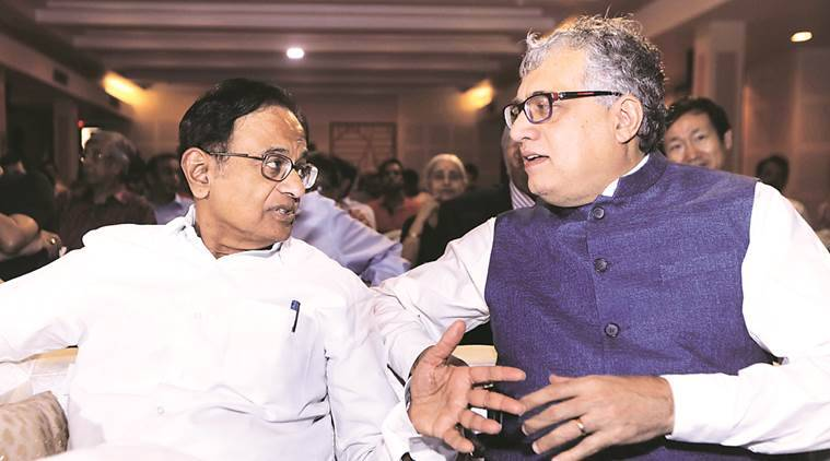 P Chidabaram, Congress leader, Congress P chidabaram, Former Finance Minister, Derek O'brien, Trinamool Congress MP, Derek O'Brien, Congress news, india news, indian express news