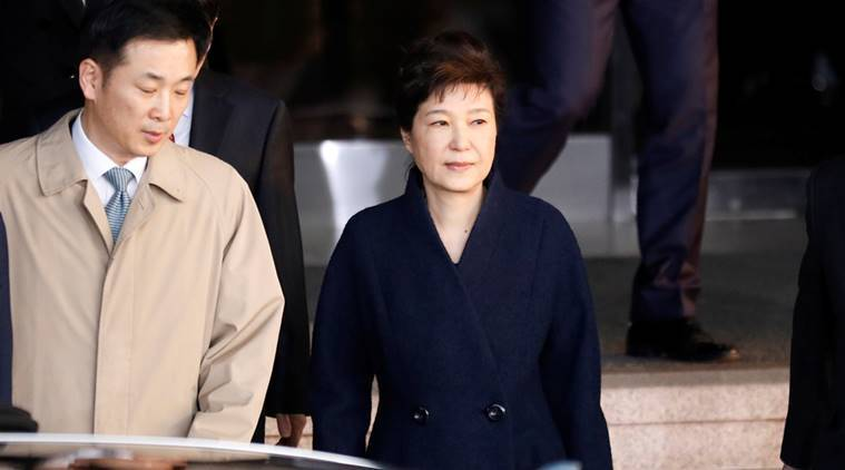Park Geun-hye, North Korea on Park Geun-hye,Park Geun-hye assassination, Park Geun-hye execution, Kim Jong Un,Park Geun-hye corruption charges, world news, indian express news