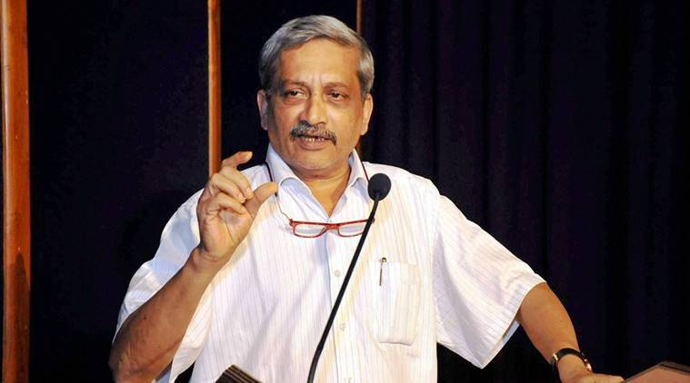 goa cm, manohar parrikar, india news, indian express news