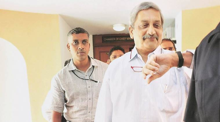 Parrikar, Manohar Parrikar by-election, Panaji by-elections, Goa bypolls, Vinay Tendulkar, Parrikar Goa bypolls, BJP Goa, India news, Indian Express